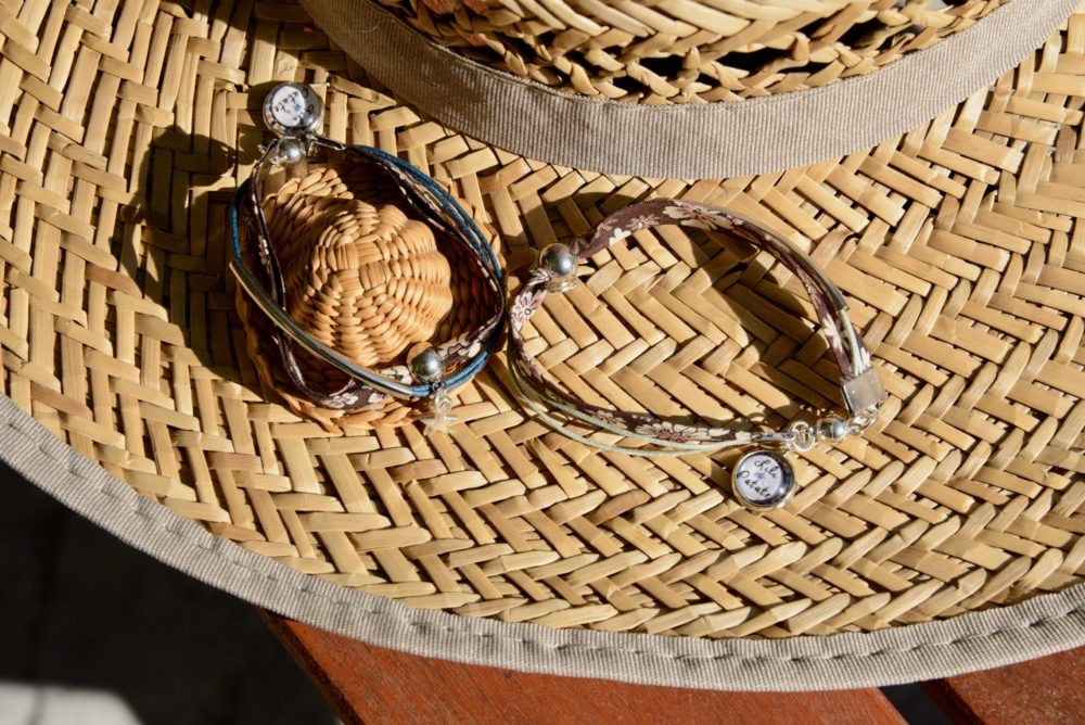 duo-bracelets-Flower-chocolat-coton-idee-cadeau-mere-fille