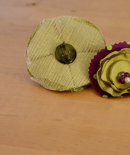 Duo-broche-epingle-mistinguette-vert