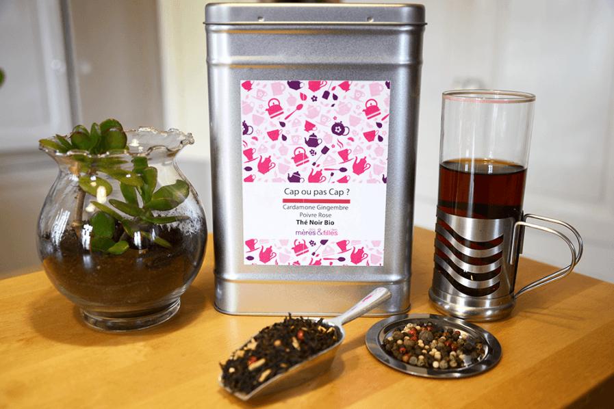 thé noir biologique en ligne. Boutique de thé, tisane, infusion haut de gamme, original.